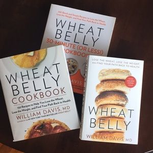 Other - 3 Wheat Belly books